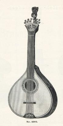 Um 1910 Antiquitäten & Kunst Katalog Musikinstrumente Max Adler Erlbach Vogtl