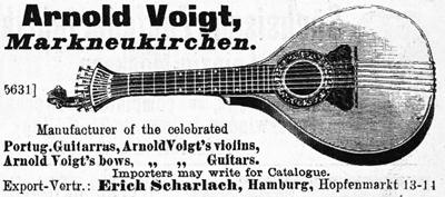 Sonstige Katalog Musikinstrumente Max Adler Erlbach Vogtl Um 1910